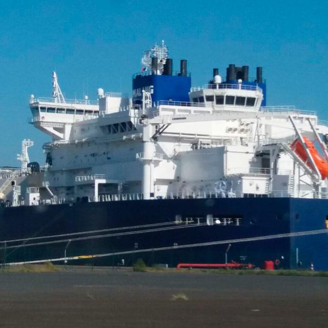 """Marítima consiflet consigna el rompehielos LNG Tanker """"FEDOR LITKE"""" procedente de Yamal (Siberia)"""