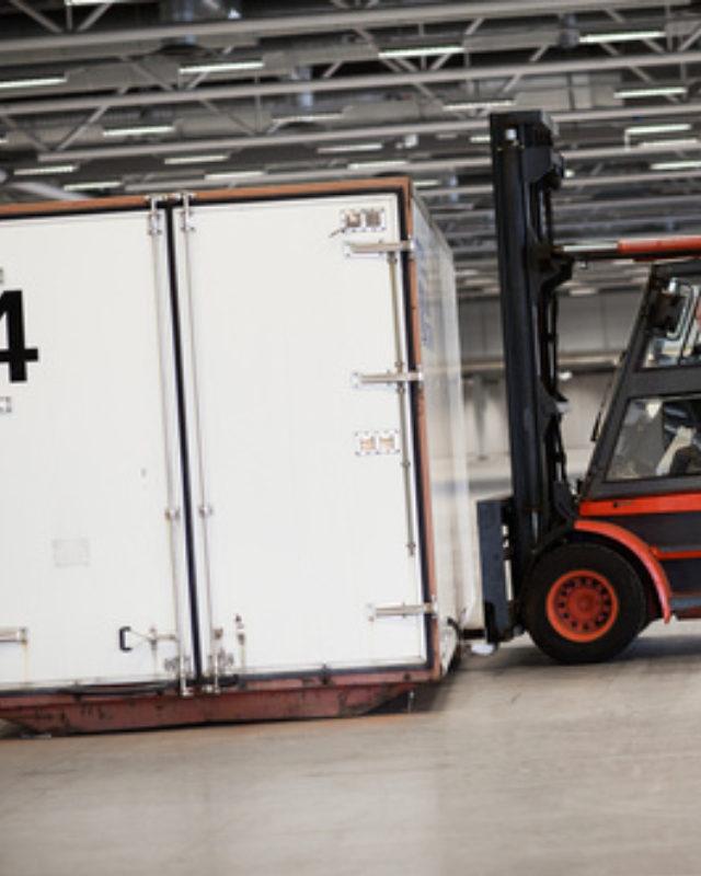 trasnportador almacenaje